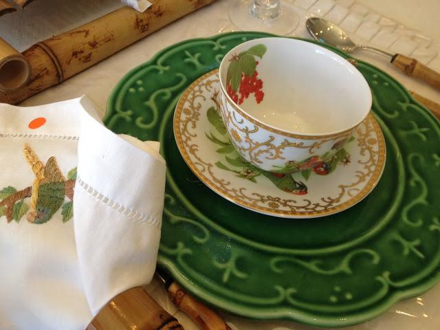 louça chá