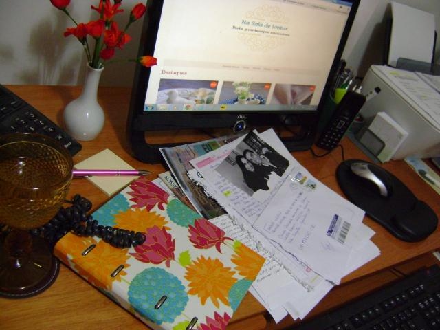 Cartas recebidas promoção niver blog